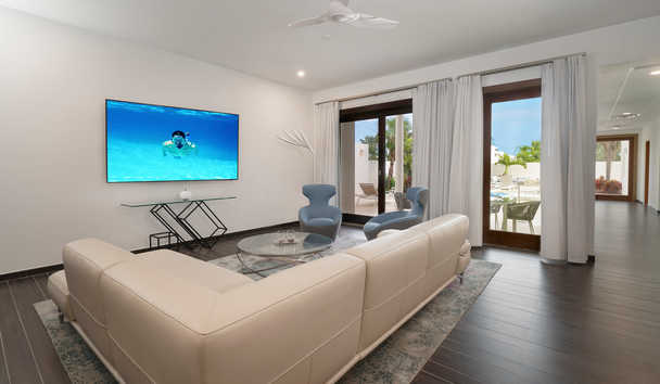 CuisinArt Golf Resort & Spa: Five Bedroom Villa Living Room