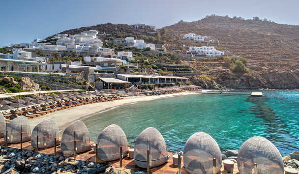 Santa Marina, A Luxury Collection Resort, Mykonos: Private Beach