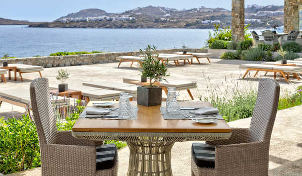 Santa Marina, A Luxury Collection Resort, Mykonos: Colonial Pool Restaurant