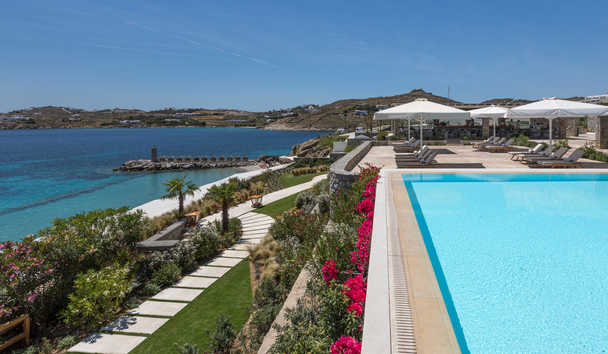 Santa Marina, A Luxury Collection Resort, Mykonos: Colonial Pool Area