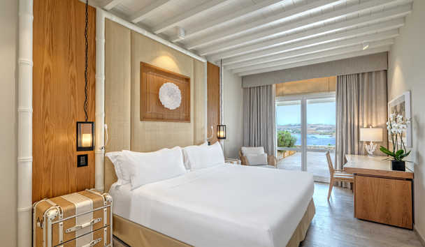 Santa Marina, A Luxury Collection Resort, Mykonos: Deluxe Seaview Room