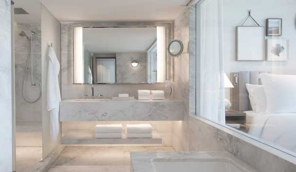 Four Seasons Astir Palace Hotel Athens: Arion Sea View Room Bathroom