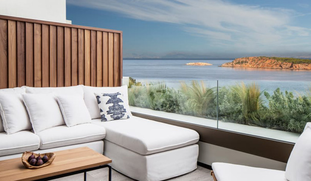 Four Seasons Astir Palace Hotel Athens: Nafsika Sea View One Bedroom Suite