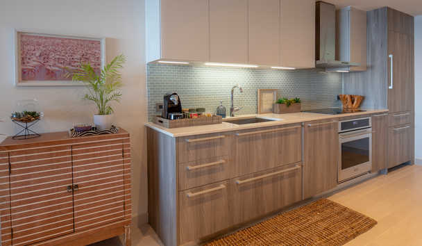Hodges Bay Resort & Spa: Apartment Kitchen