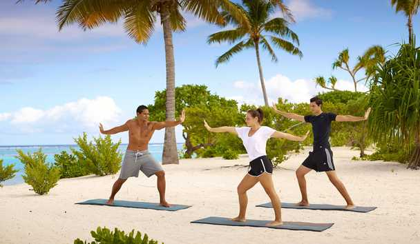 The Brando: Beach Yoga