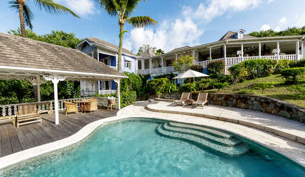 Gingerbread, Mustique: Swimming Pool
