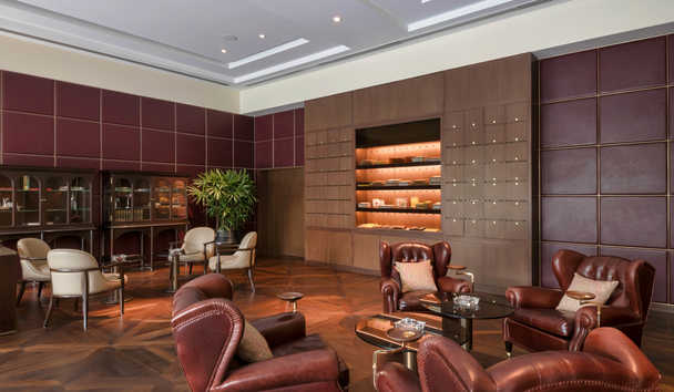 The Oberoi, New Delhi: Cigar Lounge