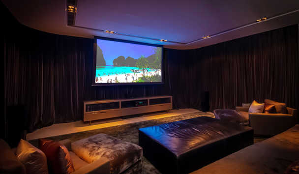 Villa Verai: Cinema Room
