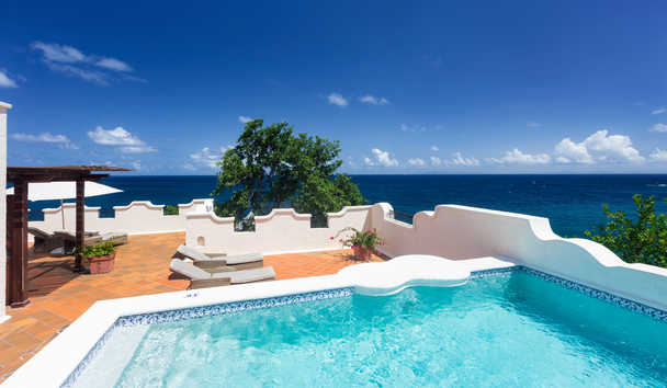 Cap Maison: Ocean View Villa Suite with Pool and Terrace