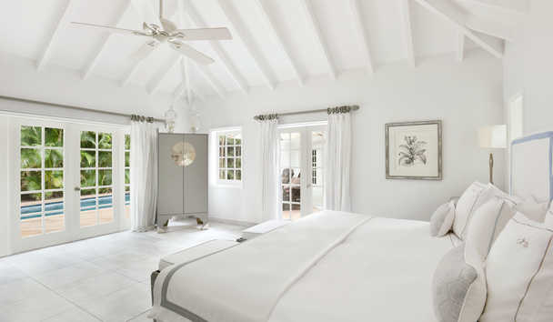 Cheval Blanc Saint-Barth Isle De France: Garden Suite Bedroom