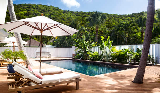 Cheval Blanc Saint-Barth Isle De France: Garden Bungalow Pool