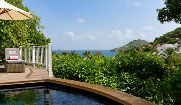 Cheval Blanc Saint-Barth Isle De France: Hillside Bungalow Pool