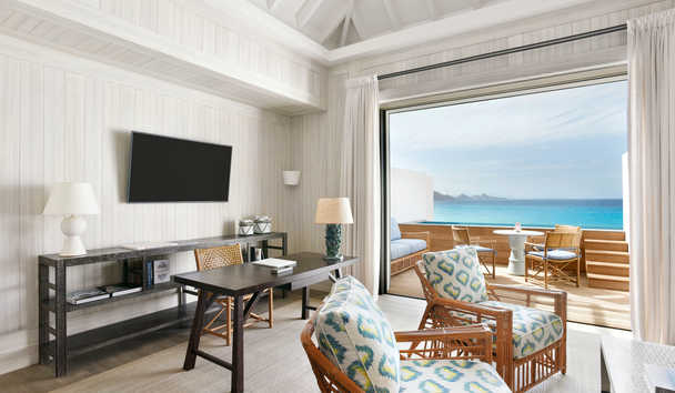 Cheval Blanc Saint-Barth Isle De France: Room by Jacques Grange