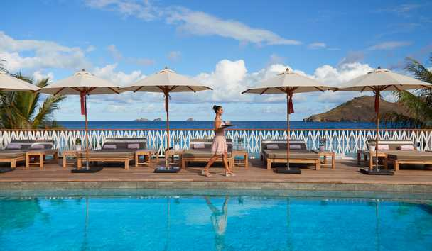 Cheval Blanc Saint-Barth Isle De France: Main Pool
