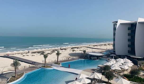 Views over Jumeirah at Saadiyat Island