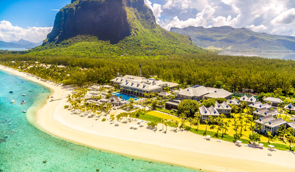 The St. Regis Mauritius Resort: Aerial View