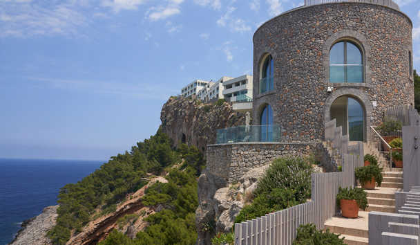 Jumeriah Port Soller Hotel & Spa: Clifftop View