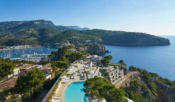 Jumeriah Port Soller Hotel & Spa: Aerial View