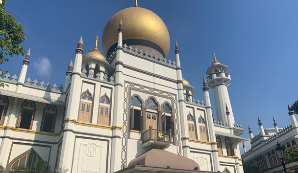 A beautiful temple in Kampong Glam