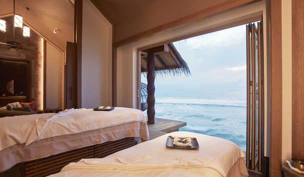 JOALI Maldives: JOALI Spa by ESPA Overwater Treatment Room