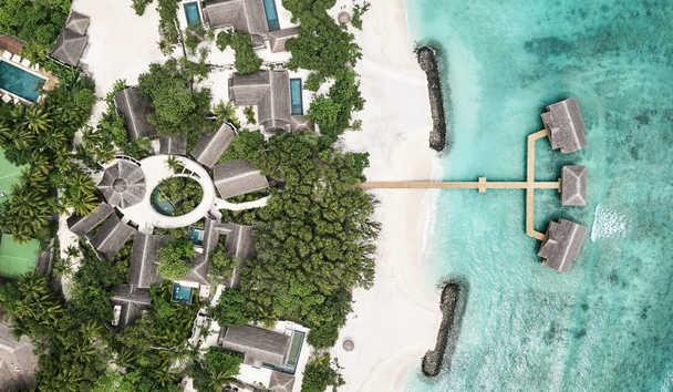 JOALI Maldives: Aerial View