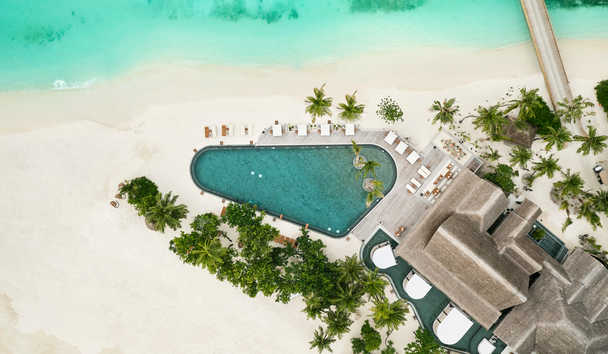 JOALI Maldives: Mura Bar Aerial