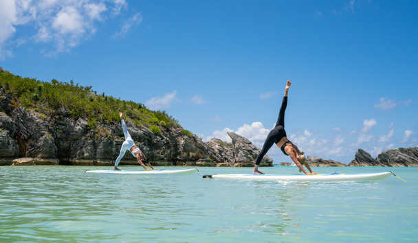 Hamilton Princess & Beach Club, A Fairmont Managed Hotel: Paddle Board Yoga