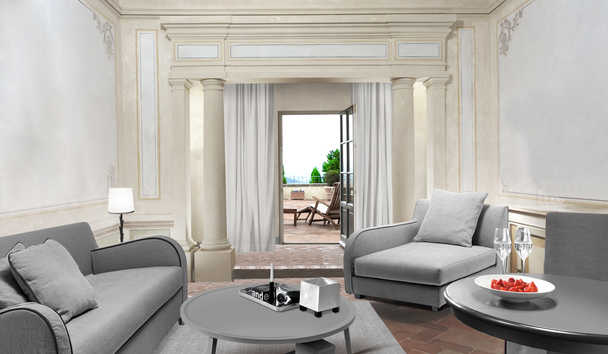 COMO Castello Del Nero: Terrace Suite