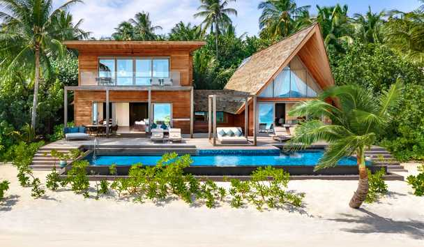 The St. Regis Maldives Vommuli Resort: Two Bedroom Beach Villa