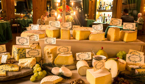 Hotel Hermitage: Cheese Trolley