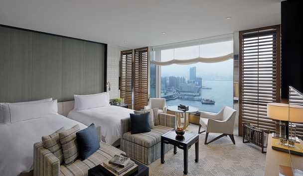 Rosewood Hong Kong: Harbour View Twin Room