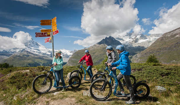 Chalet Zermatt Peak: Mountain Biking