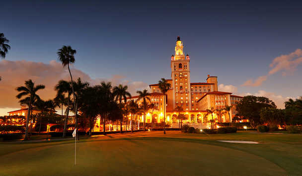 The Biltmore Hotel: Exterior at Night