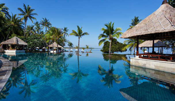 The Oberoi Beach Resort, Lombok: Main Pool