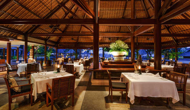 The Oberoi Beach Resort, Lombok: Lumbung Restaurant