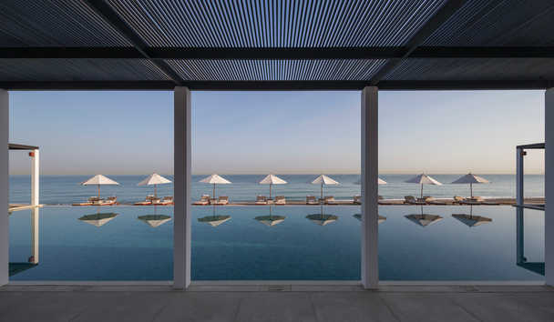 The Chedi Muscat: Pool