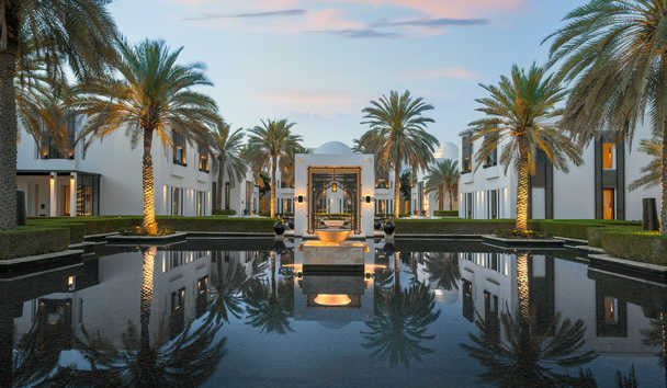The Chedi Muscat: Water Gardens
