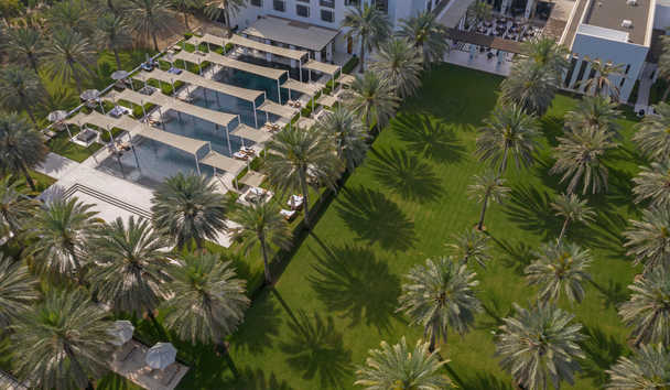 The Chedi Muscat: The Gardens