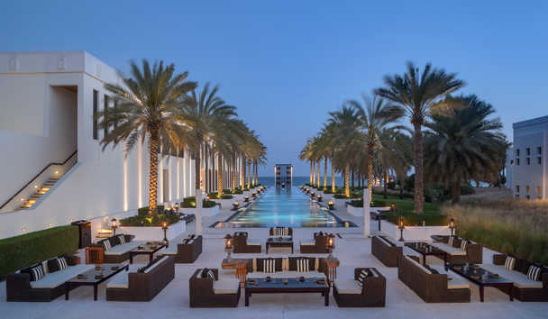The Chedi Muscat: The Long Pool