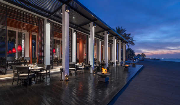 The Chedi Muscat: The Beach Restaurant