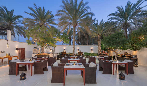 The Chedi Muscat: The Arabic Courtyard