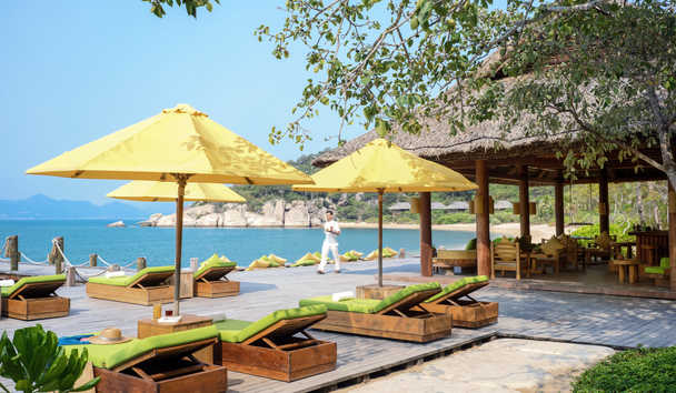 Six Senses Ninh Van Bay: Beach Drinks