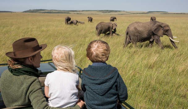 Rekero Camp: Family Game Drive