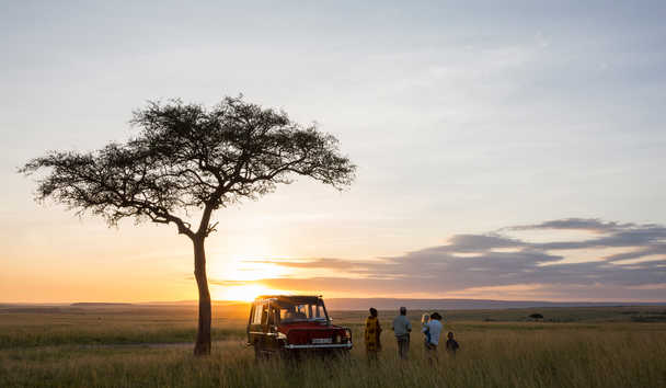 Rekero Camp: Sundowners