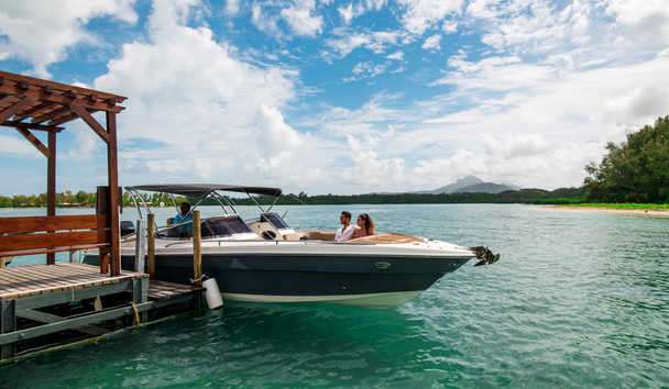 Shangri-La's Le Touessrok Resort & Spa, Mauritius: Speedboat Excursion