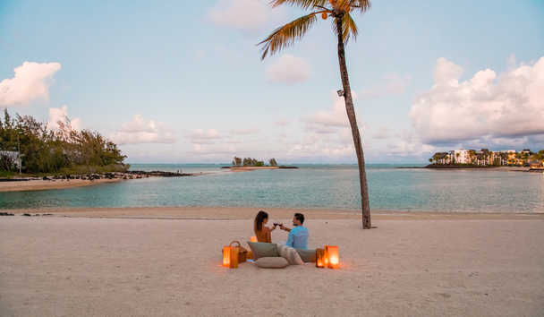 Shangri-La's Le Touessrok Resort & Spa, Mauritius: Romantic Beach Setting