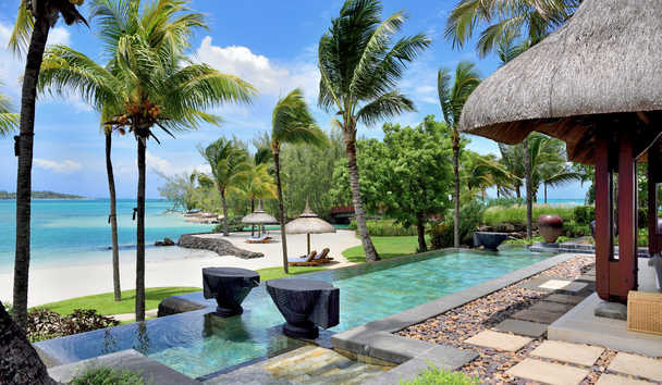 Shangri-La's Le Touessrok Resort & Spa, Mauritius: Shangri-La Three Bedroom Beach Villa Terrace
