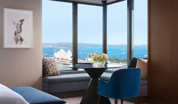 Four Seasons Hotel Sydney: Four Seasons Full Harbour Room