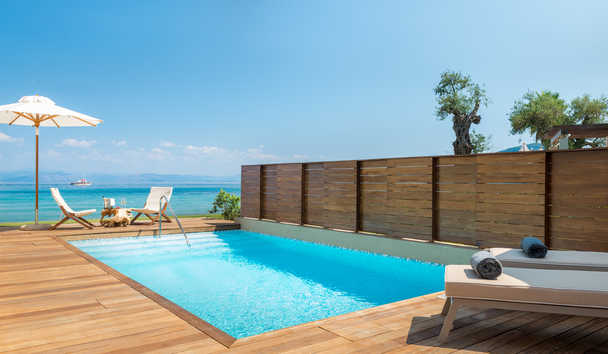 Domes Miramare, a Luxury Collection Resort: Pavillion Suite Outdoor Pool