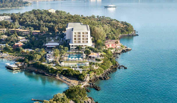 Grecotel Corfu Imperial: Aerial View